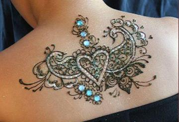 Mehndi Tattoos For Girls, Mehndi Tattoos