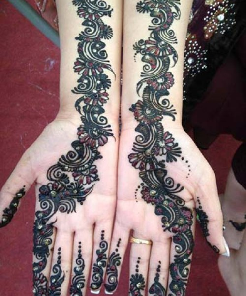 mehandi designs, mehndi designs for bride