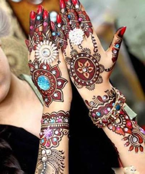 bridal mehndi for arabic,indian arabic design,pakistan mehndi design