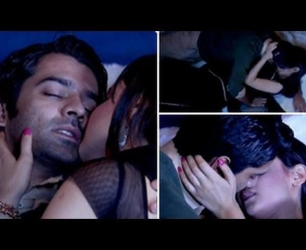 arnav and khushi kiss, sanaya and barun