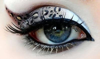 glitter eye makeup, how to put on eye makeup