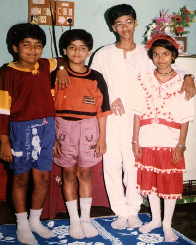 gurmeet choudhary childhood photos