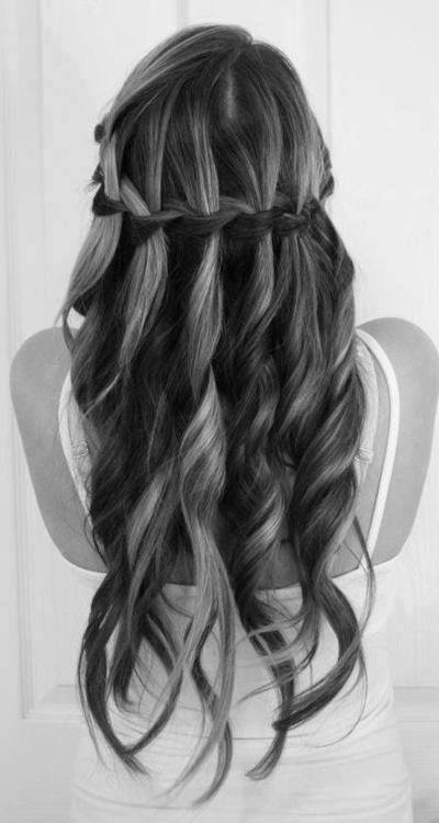 quick easy hairstyles for long hair, cute easy hairstyles for school