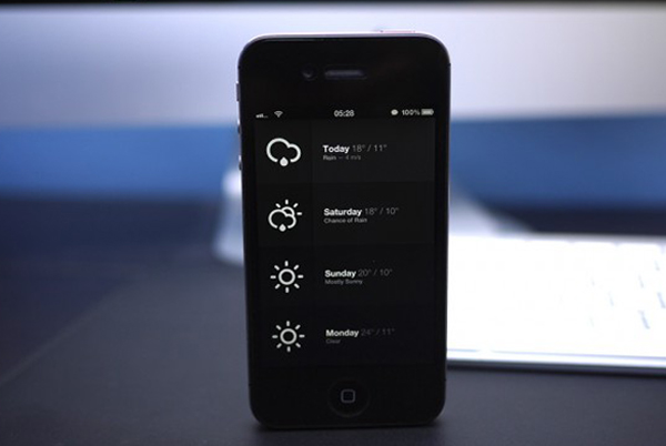 weather apps for iphone 4s, top weather apps for iphone