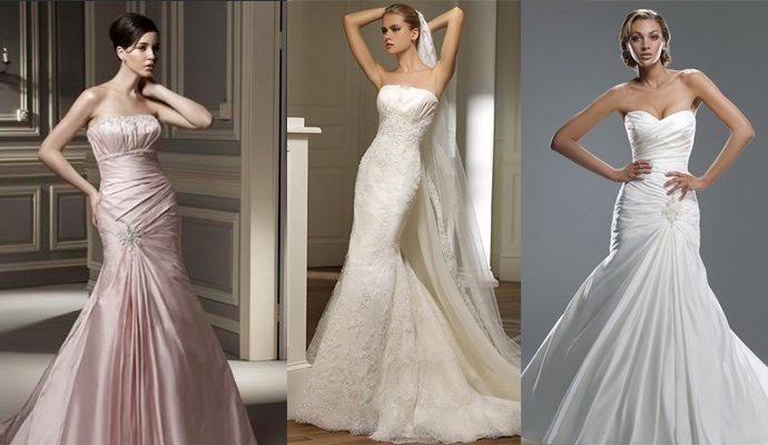 Mermaid Style Bridal dresses
