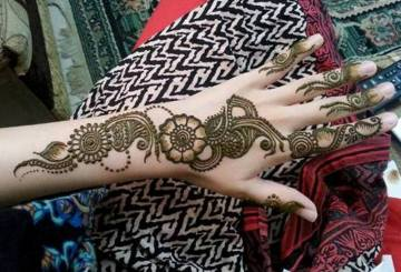 bridal mehndi designs for hands, simple mehndi designs