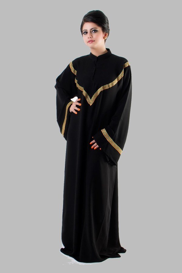 Embroidered Abaya Designs for Womens