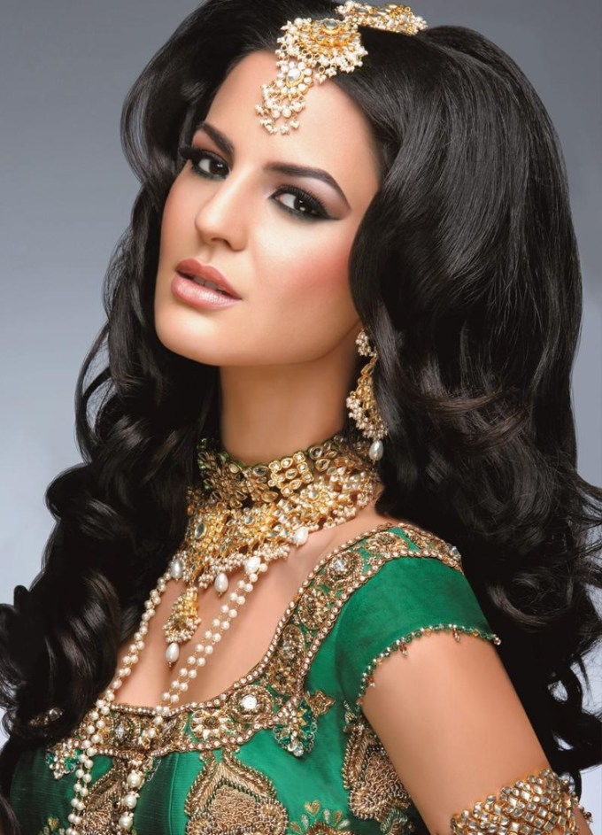 South Indian Bridal Hairstyles For Wedding Reception