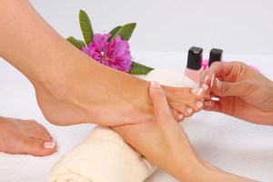 Keep your feet pedicured