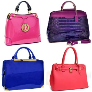 Enjoy True Essence Of Winter With Colored Handbags!