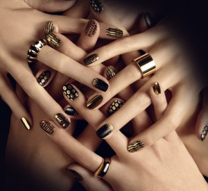 Fancy Nail Art For Girls