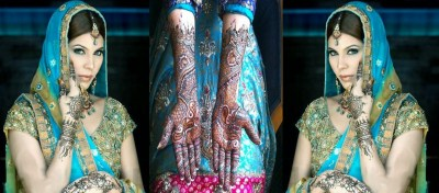 Bridal Henna Designs for Hands and Feet