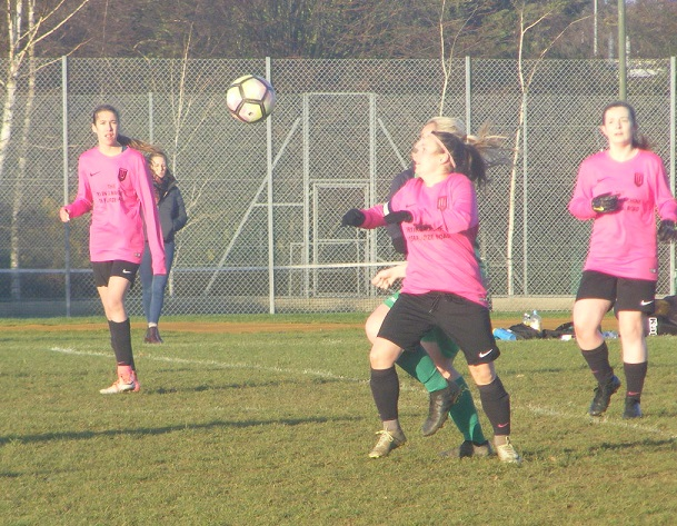 Two goals for Thorpe United Ladies captain, Rebekah Lake
