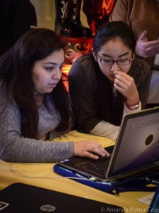 #ARKidsCanCode - 150 girls from 40 schools across the state participate in WFA Girls of Promise Coding Summit. Photo by Amanda Potter Cole