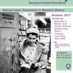 Women's History, Issue 8, Summer 2017, print copy