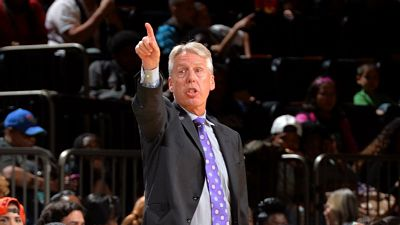 Los Angeles Sparks coach Brian Agler said there may be some line up changes for tomorrow's match up against the Seattle Storm. Photo courtesy of Los Angeles Sparks.