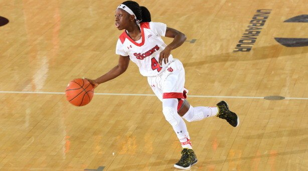 Senior guard Aaliyah Lewis will have to step into a leadership role this season for St. John's. Photo courtesy of St. John's Athletics.