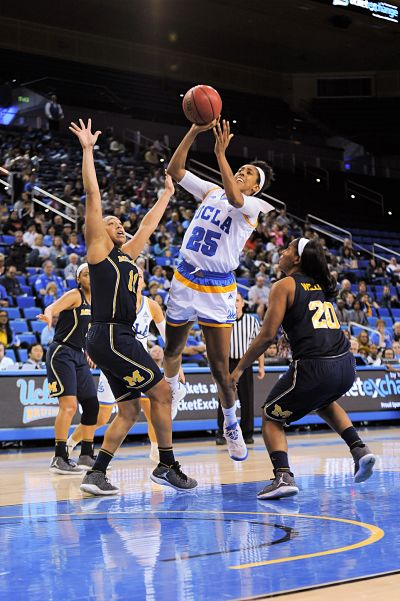 Monique Billings was effective on both offense and defense for the Bruins. Photo by Zyaire Porter/T.G.Sportstv1.