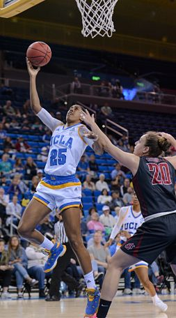 Monique Billings tied a school record against WSU with 25 rebounds in a game. Photo by Zyaire Porter/T.G.Sportstv1.