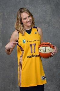 Sydney Wiese. Photo by Jennifer Pottheiser/NBAE via Getty Images.