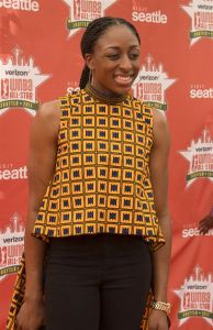 Nneka Ogwumike. Photo by Jamie Mitchell/TGSportstv1.