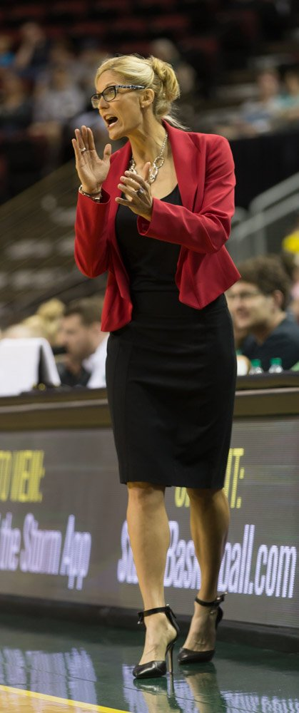 Jenny Boucek took over as Storm head coach in 2015. Photo by Neil Enns/Storm Photos.