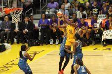 Nneka Ogwumike elevates to score. Photo by Benita West/TGSportsTV1.