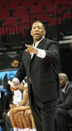 Freddie Murray took over as Grambling State's head coach this season after serving as interim head coach last year. Photo courtesy of Grambling State Athletics.