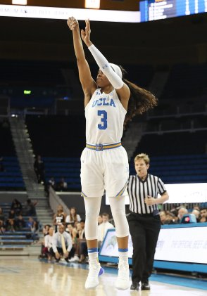 Jordin Canada unleashes a jumper. Photo by Maria Noble/WomensHoopsWorld.