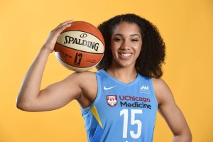 Gabby Williams. Photo by Randy Belice/NBAE via Getty Images.