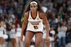 Anriel Howard. Photo courtesy of Mississippi State Athletics.