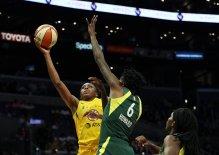 Nneka Ogwumike, Natasha Howard. Maria Noble/WomensHoopsWorld