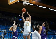 Natalie Chou lays it up and in. Maria Noble/WomensHoopsWorld