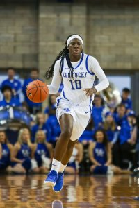 Rhyne Howard may be the best player in the SEC this season. Hannah Phillips/UK Athletics.