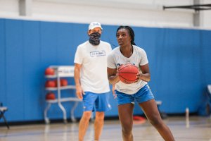 Michaela Onyenwere was All-Pac-12 last season and has been scouted by WNBA coaches since her sophomore year. UCLA Athletics photo.