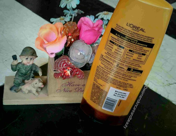 L'oreal Paris 6 Oil Nourish Nourishing Conditioner