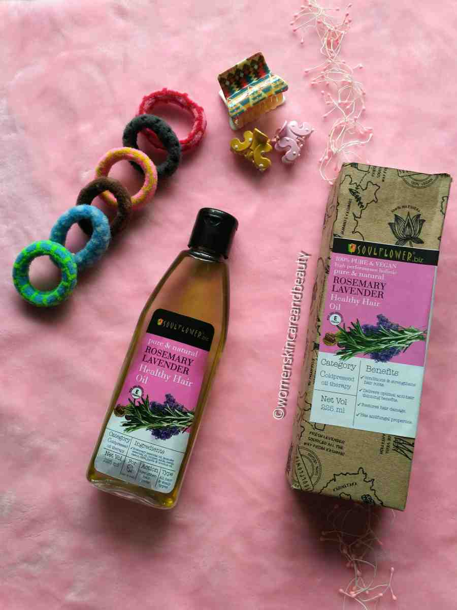 Soulflower Healthy Hair Oil Review