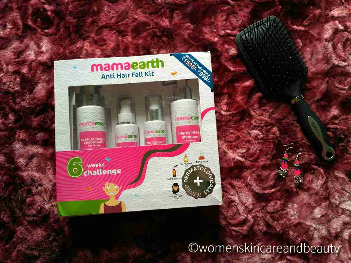 Mamaearth Anti-hairfall Kit Review