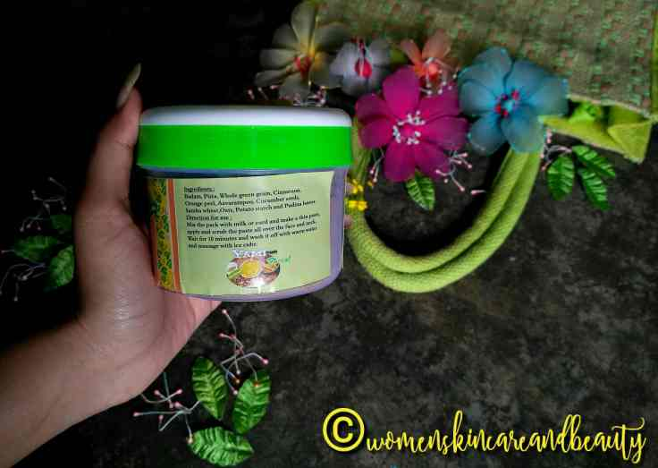 Yami Herbals Homemade Face Pack