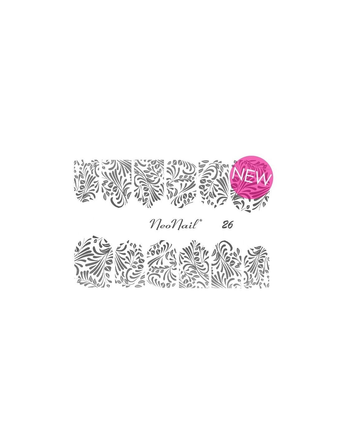 Naklejki Wodne Neonail Do Manicure Hybrydowego Water Stickers Art