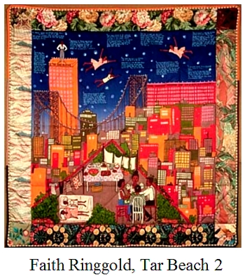 Faith Ringgold Quilt