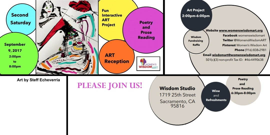 Second Saturday- Poetry, Prose and Art!