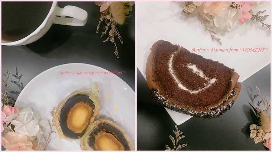 台北蛋黃酥、平價好吃!有整顆鹹蛋黃32元/顆「小潘蛋糕坊」CP值超高高高!蛋黃酥、鳳凰酥、蛋糕也好吃!