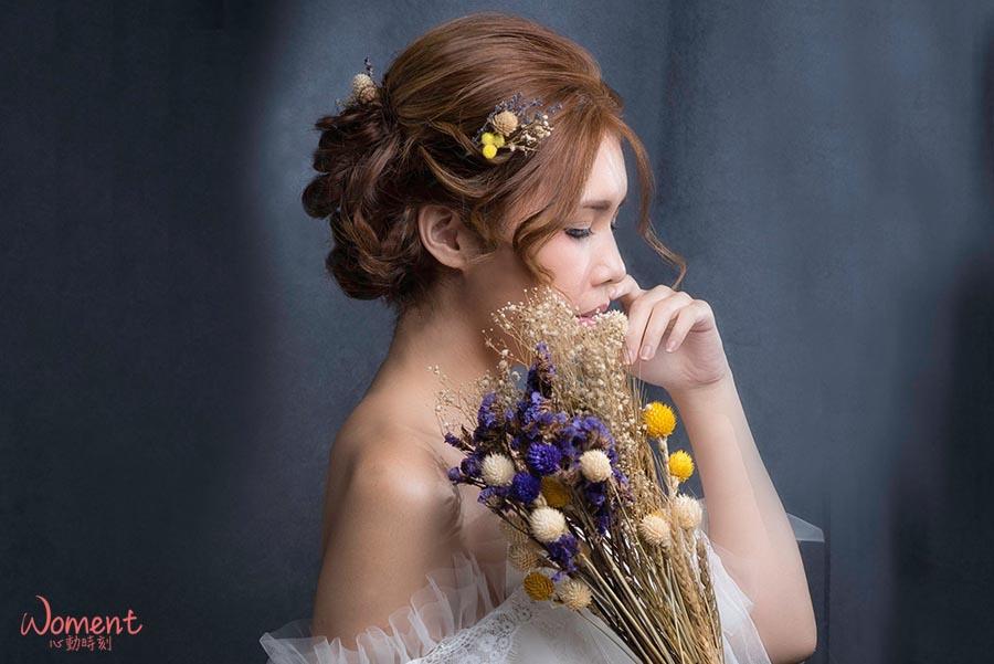 【DIY乾燥花頭飾】怎麼搭怎麼美!你手邊有乾燥花嗎?趕快拿出來幫造型加分吧