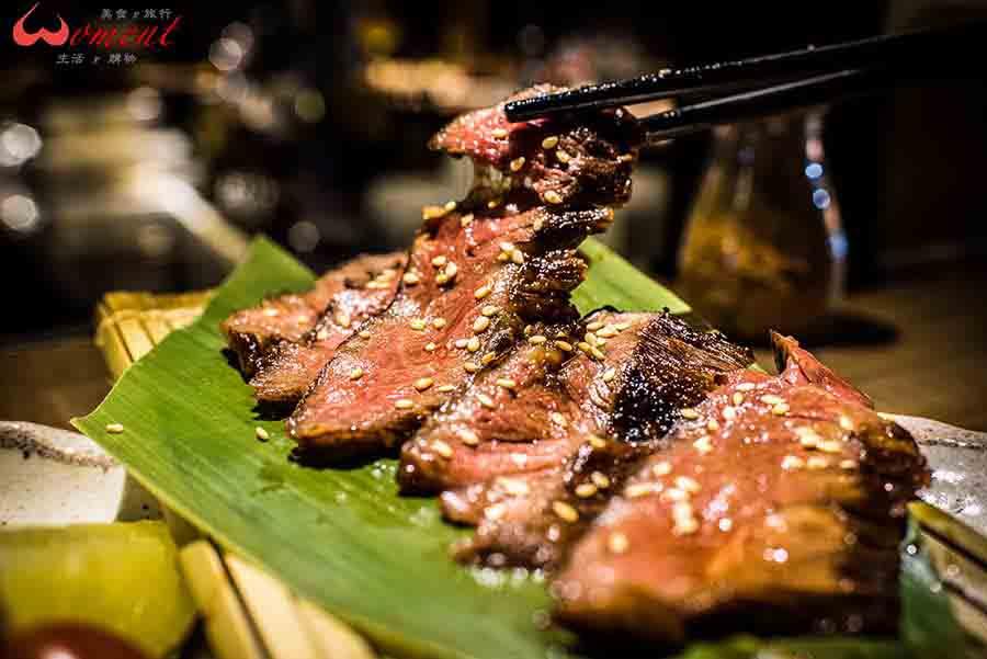 新串New Trend居酒屋🍶這趟讓我念念不忘的料理:醬烤和牛橫膈膜、烤青甘下巴、鹽烤海大蝦…(下集)