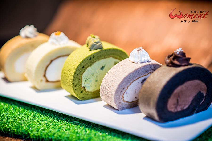【彌月蛋糕推薦】網購超夯五色生乳卷,實體店面在萬華,還有現烤雞蛋糕!
