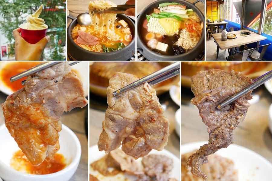 【西門町 銅盤烤肉吃到飽】阿豬嘻烤肉村 $398一口價!6種肉品搭配10種醬料、辛香料,吃得好過癮!