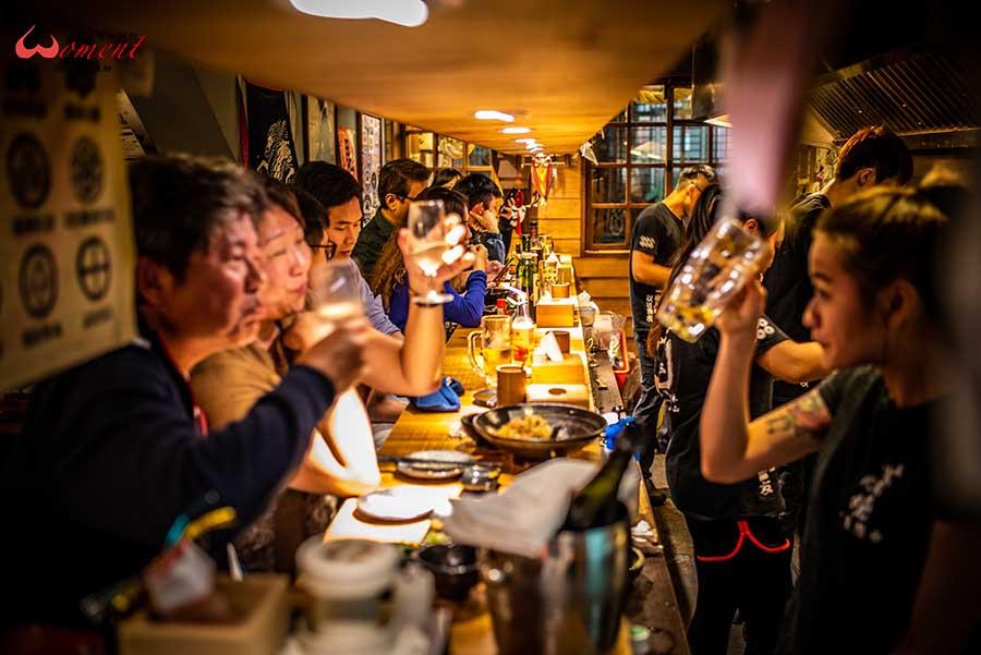 北投居酒屋首選「蔦燒」泡湯更要吃美食,北投市場附近喝一杯的首選,媲美明蝦的高CP大蝦,品嘗清酒與創意料理