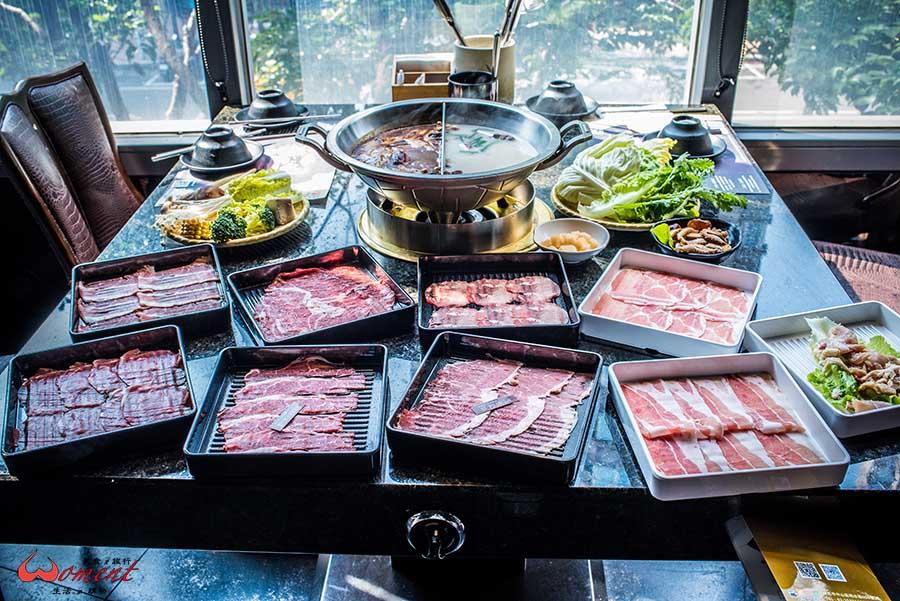 (已歇業)大直火鍋吃到飽推薦-金極鮮推出新菜單,四種價位滿足各種客群,和牛吃到飽只要$898起