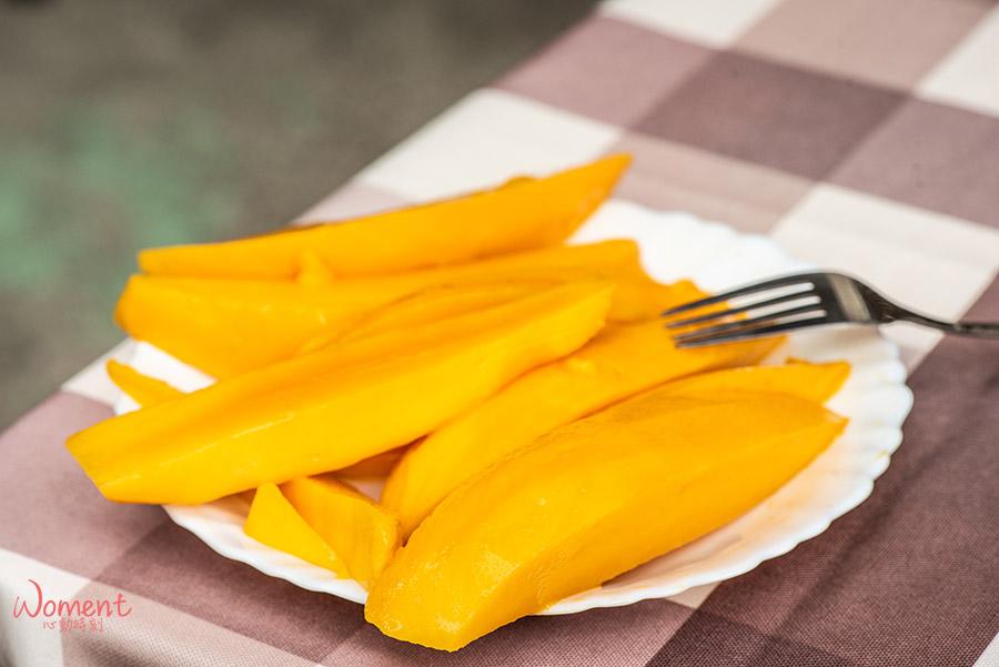 孫家水蜜桃芒果-切盤